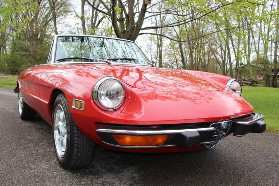 36-Years-Owned 1973 Alfa Romeo Spider