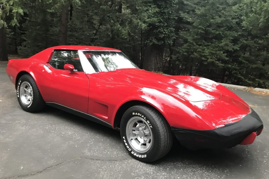 27-Years-Owned 1976 Chevrolet Corvette 4-Speed