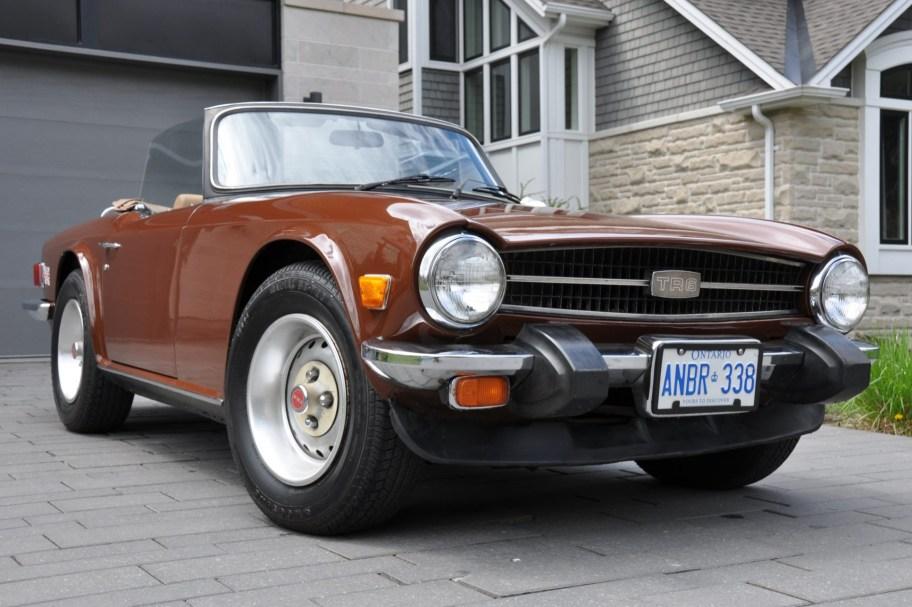 1976 Triumph TR6 w/Overdrive