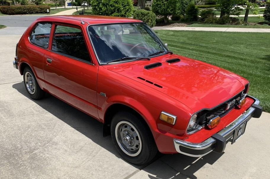 No Reserve: 1977 Honda Civic CVCC 5-Speed