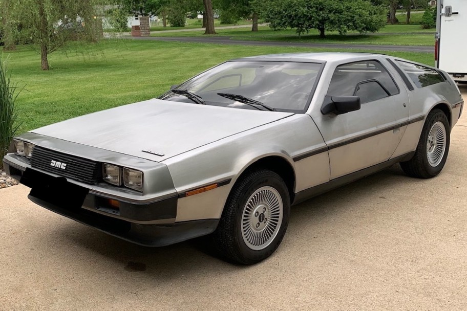 36-Years-Owned 1983 DeLorean DMC-12