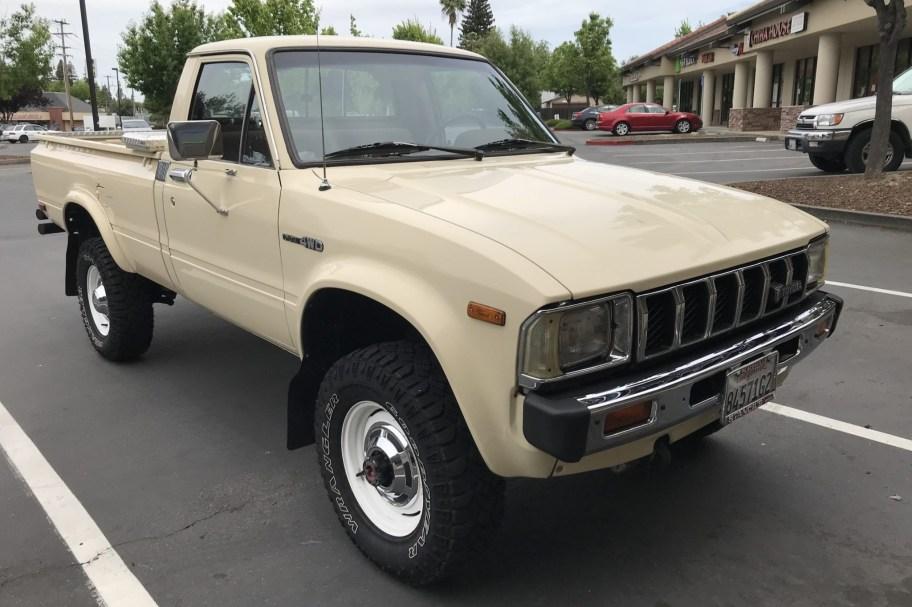 1983 Toyota Pickup 4x4 5-Speed