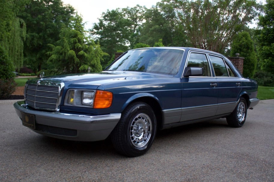 40k-Mile 1984 Mercedes-Benz 380SE