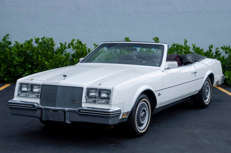 No Reserve: 1985 Buick Riviera Convertible V6 Turbo
