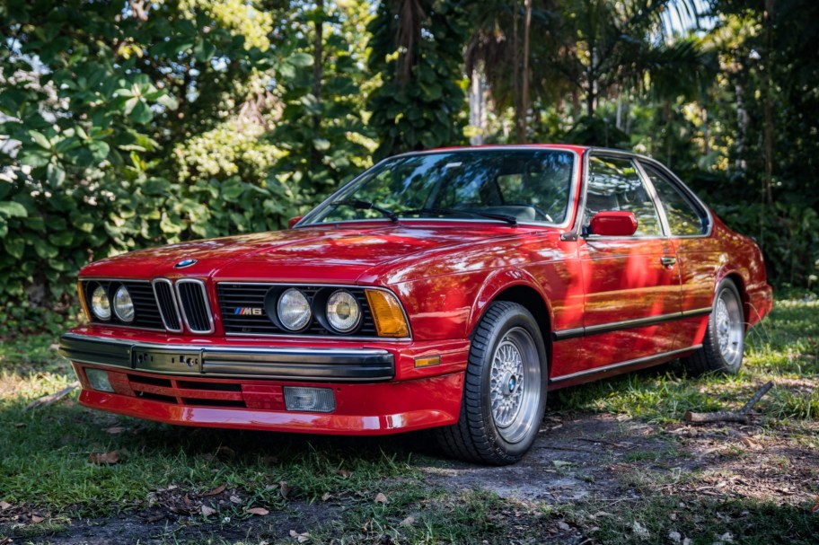 24k-Mile 1988 BMW M6