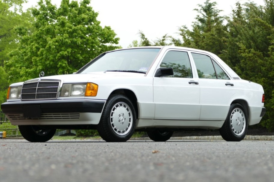 No Reserve: 35k-Mile 1991 Mercedes-Benz 190E