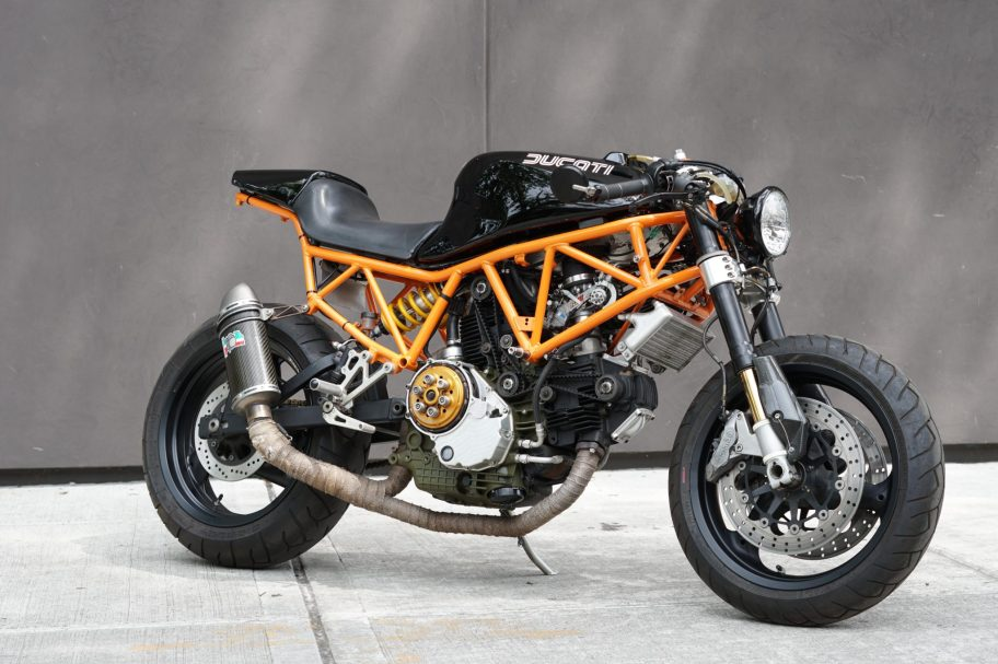No Reserve: Custom 1994 Ducati 900 Supersport