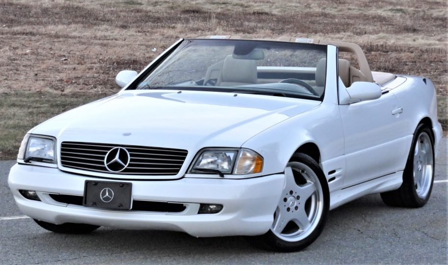 37k-Mile 2001 Mercedes-Benz SL500