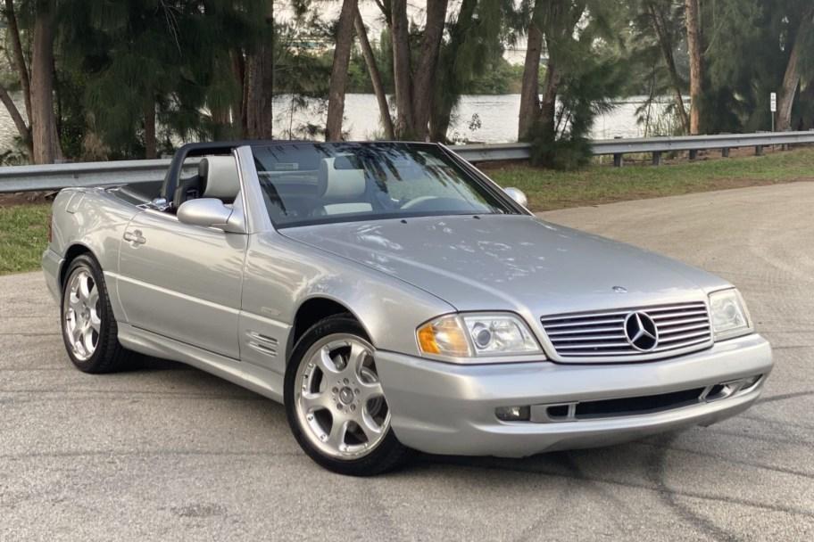 No Reserve: 2002 Mercedes-Benz SL500 Silver Arrow