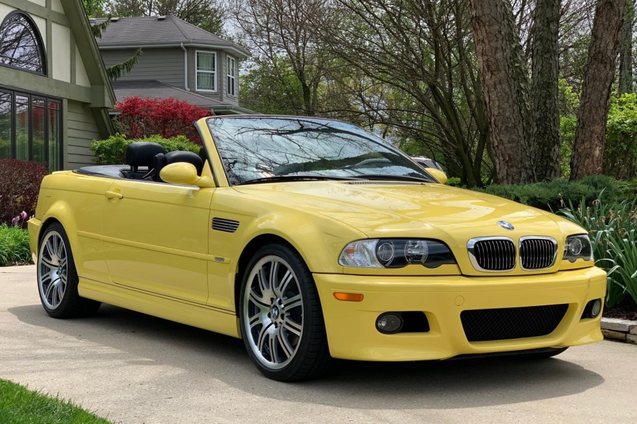27k-Mile 2003 BMW M3 Convertible
