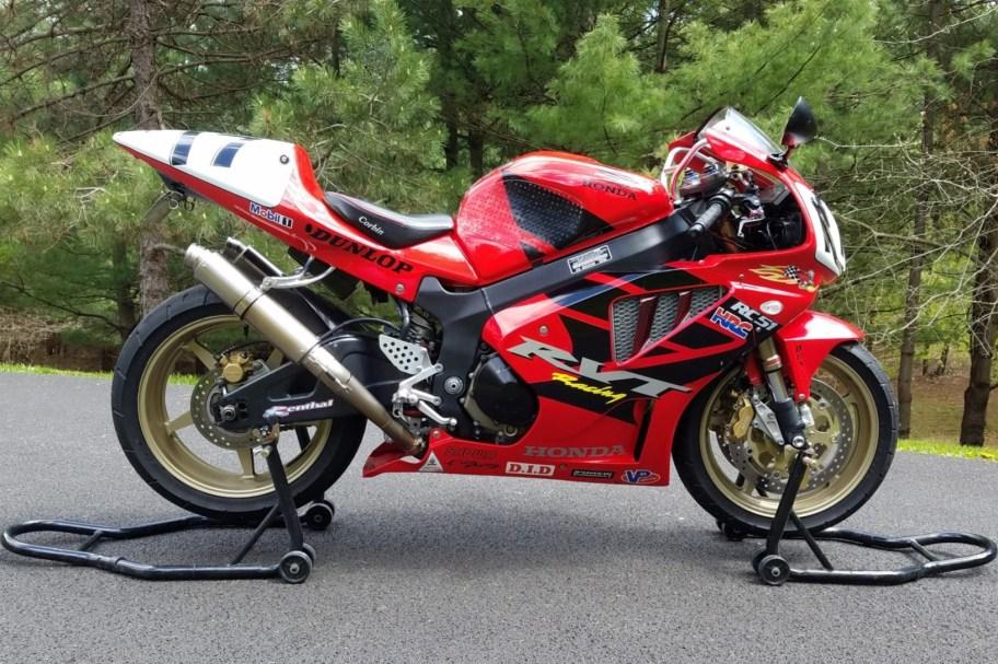 No Reserve: 2003 Honda RVT1000R RC51
