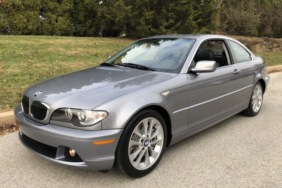 22k-Mile 2005 BMW 330Ci Coupe 6-Speed