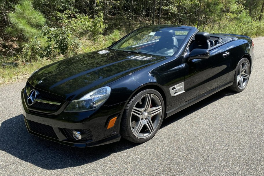 30k-Mile 2011 Mercedes-Benz SL63 AMG
