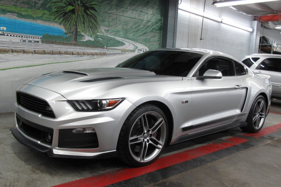 6,600-Mile 2015 Ford Mustang GT Roush Stage 2 6-Speed
