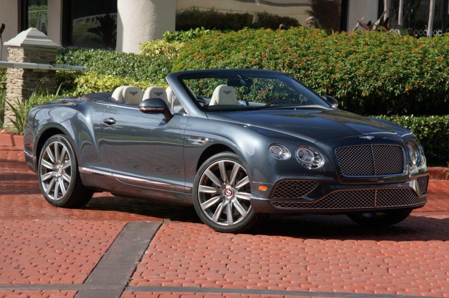 20k-Mile 2016 Bentley Continental GTC V8