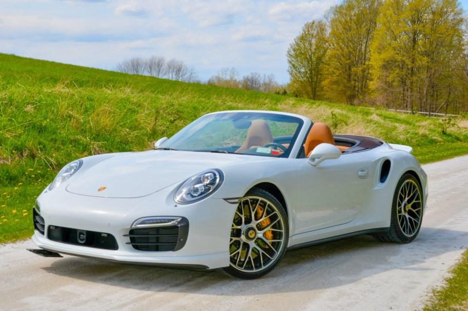 7k-Mile 2016 Porsche 911 Turbo S Cabriolet