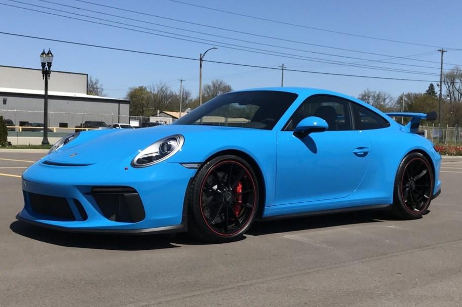 Mexico Blue 2018 Porsche GT3 6-Speed