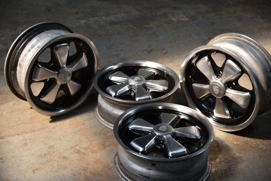 No Reserve: 1974 15×6″ Fuchs Wheels for Porsche 911