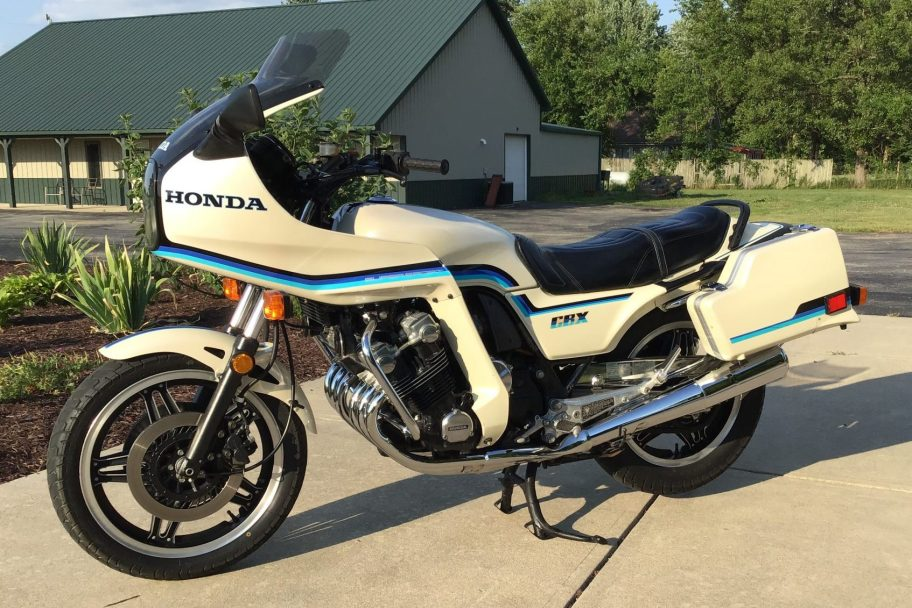 7k-Mile 1982 Honda CBX Supersport