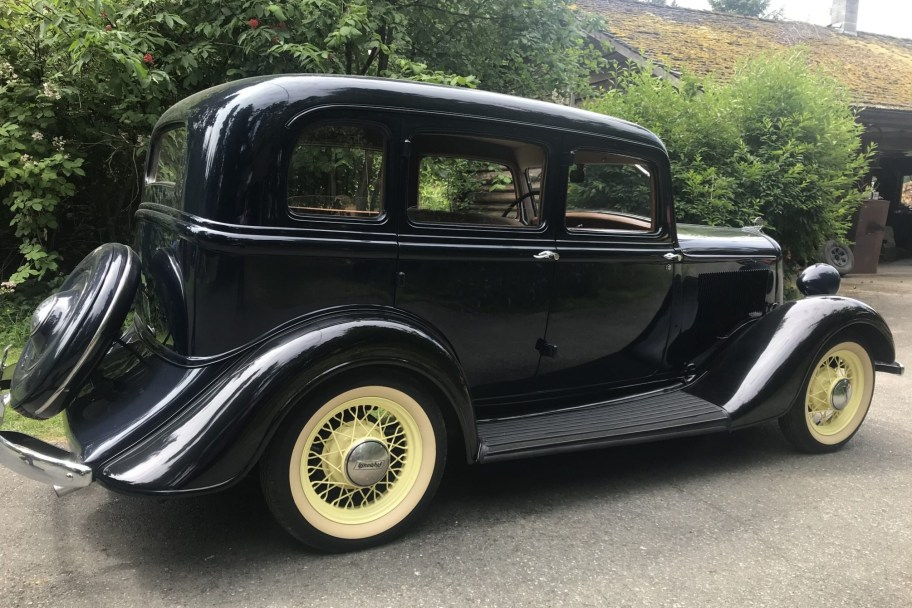 35-Years-Owned 1934 Plymouth Sedan