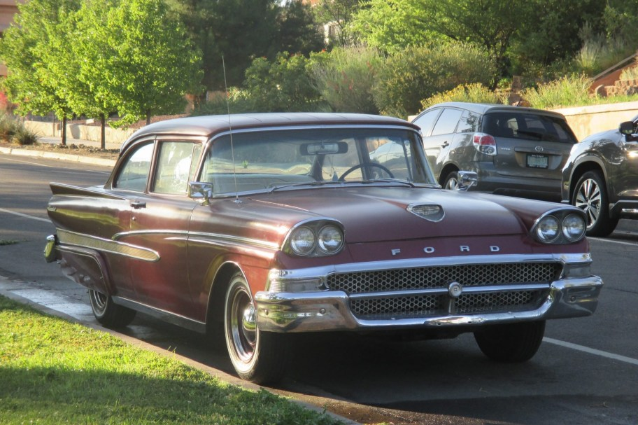 No Reserve: Chevy-Powered 1958 Ford Custom 300