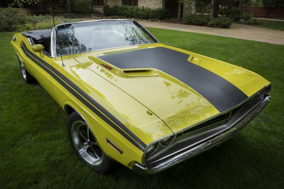 505-Powered 1971 Dodge Challenger Convertible