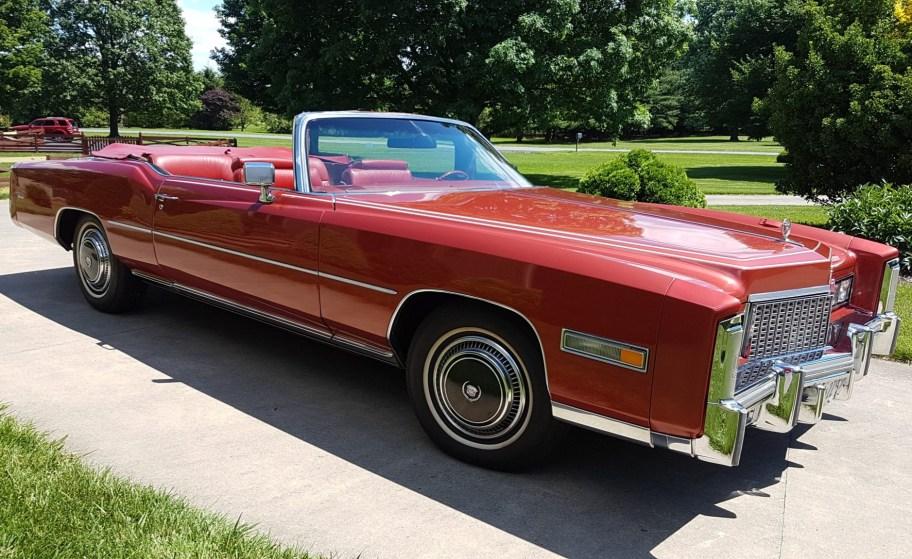 One-Family-Owned 1976 Cadillac Eldorado Convertible