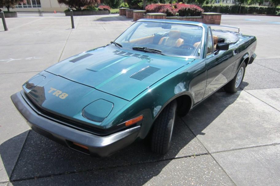 3.9L-Powered 1980 Triumph TR8