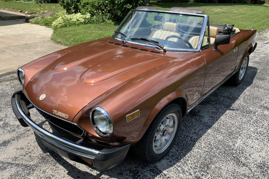1982 Fiat Spider 2000 Turbo