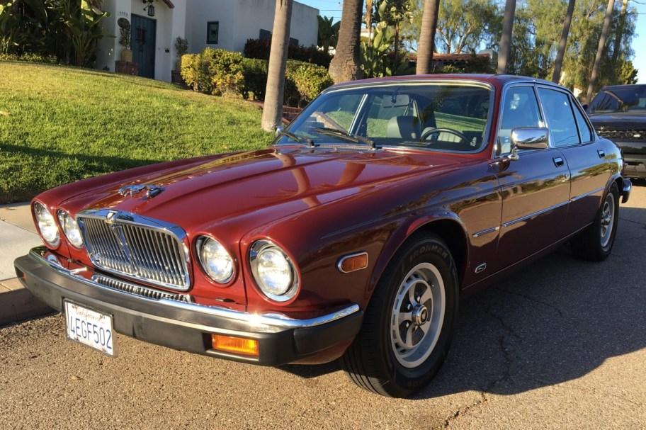 No Reserve: 27k-Mile 1985 Jaguar XJ6