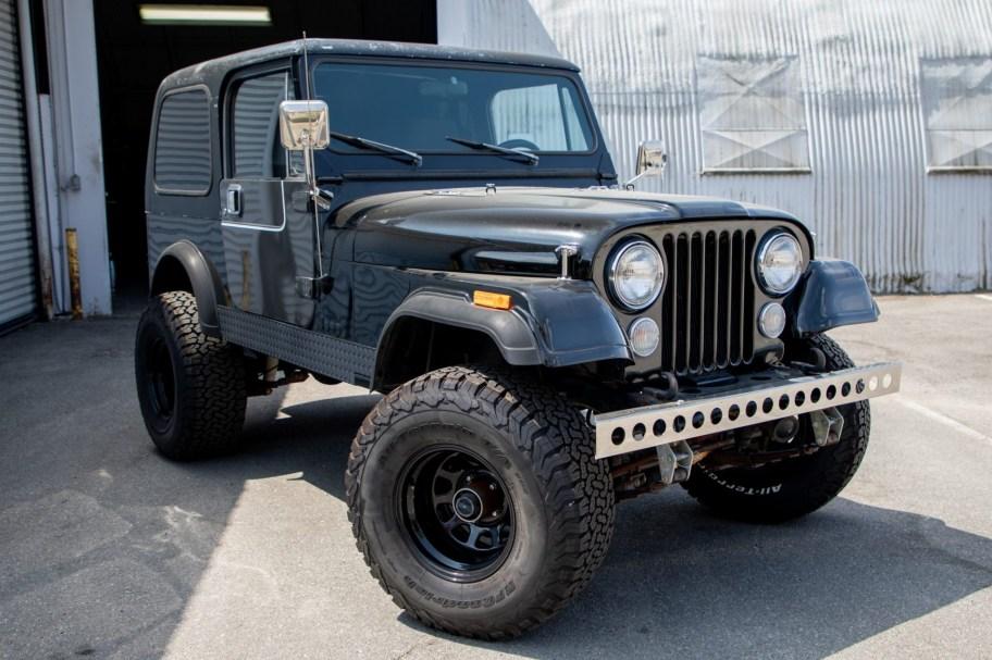 No Reserve: 1985 Jeep CJ-7 5-Speed