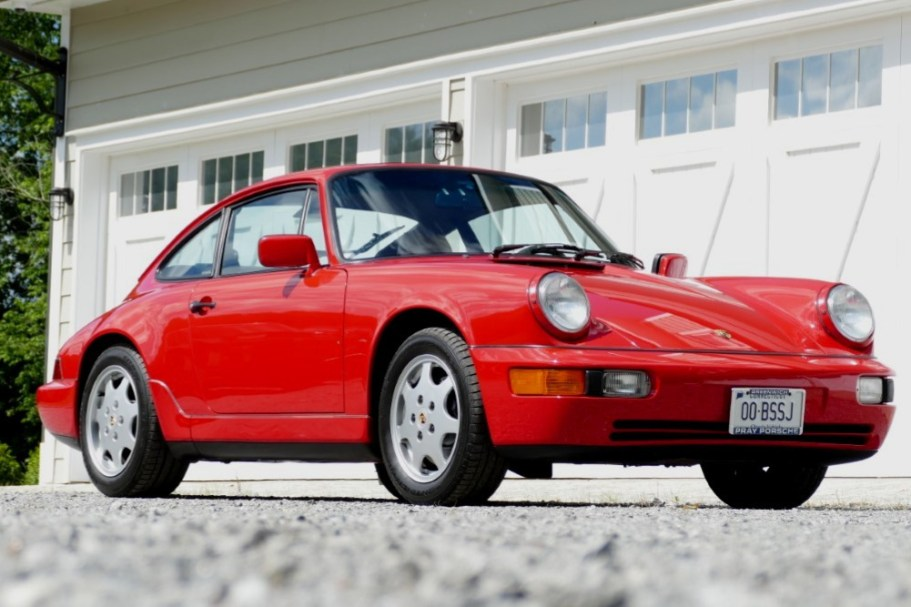 1990 Porsche 911 Carrera 4 Coupe 5-Speed