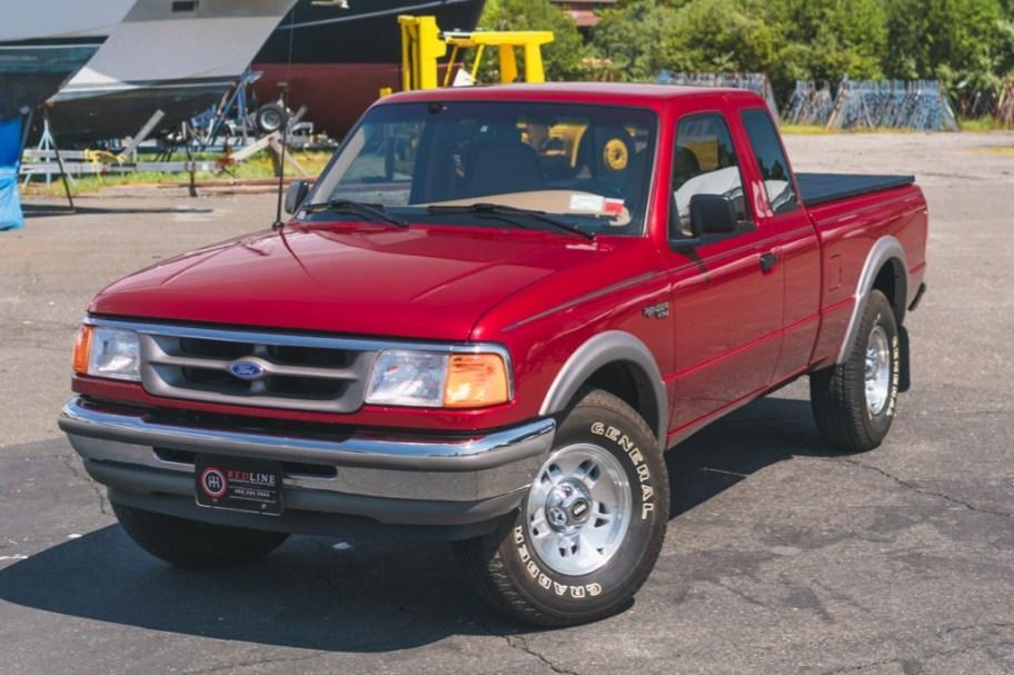 No Reserve: 2k-Mile 1996 Ford Ranger XLT SuperCab 4x4 4.0L 5-Speed