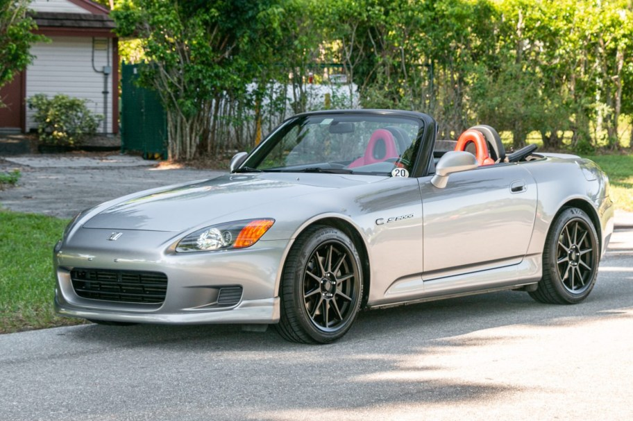 Supercharged 2003 Honda S2000