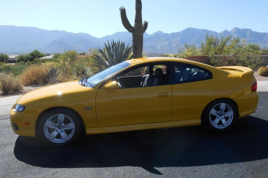 2,400-Mile 2004 Pontiac GTO