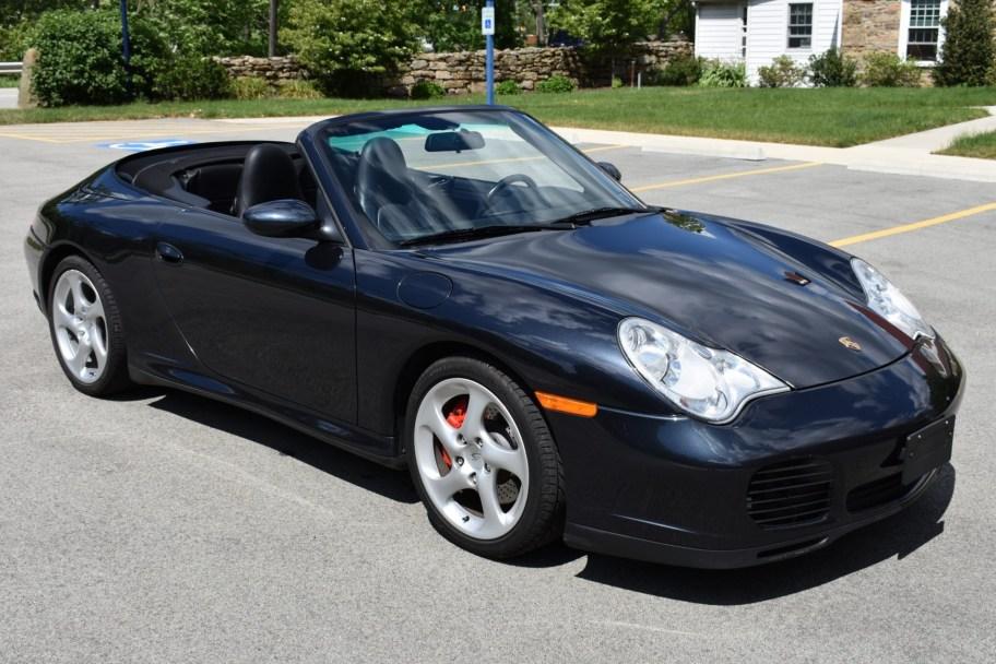 Original-Owner 2004 Porsche 911 Carrera 4S Cabriolet 6-Speed