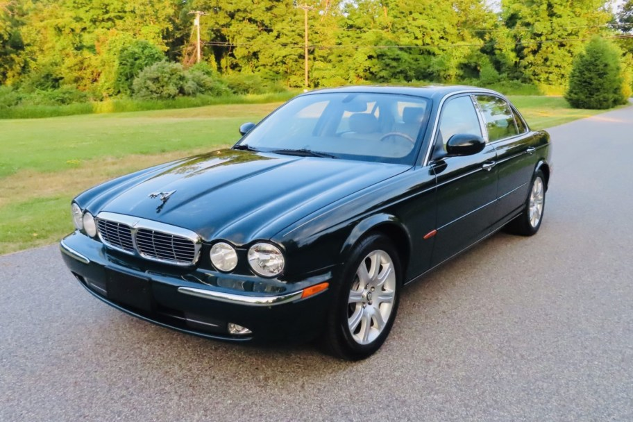 51k-Mile 2005 Jaguar XJ8L