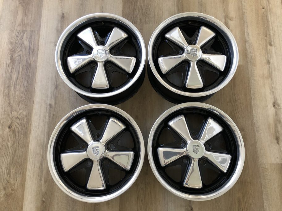 No Reserve: Pair of 15×6″ Deep Six and Pair of 15x7″ 7R Fuchs Wheels