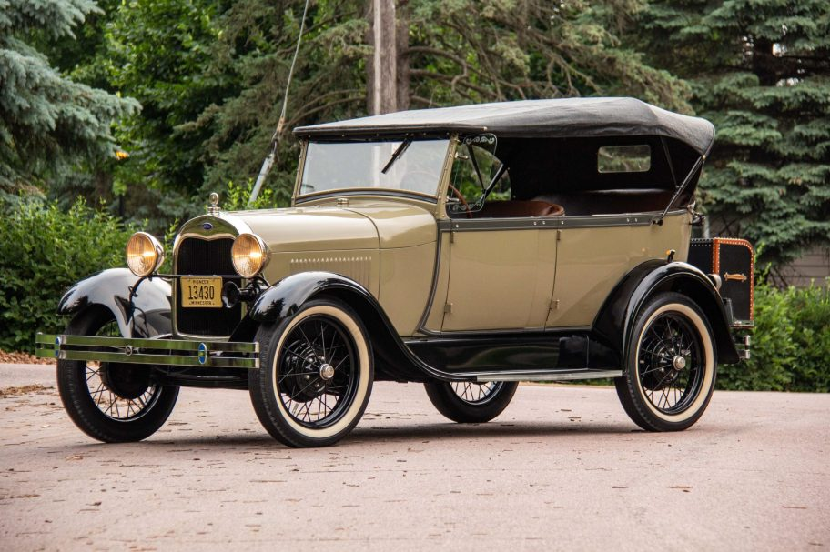 No Reserve: 1928 Ford Model A Phaeton