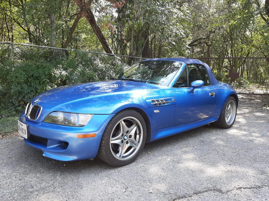 2002 BMW M Roadster S54