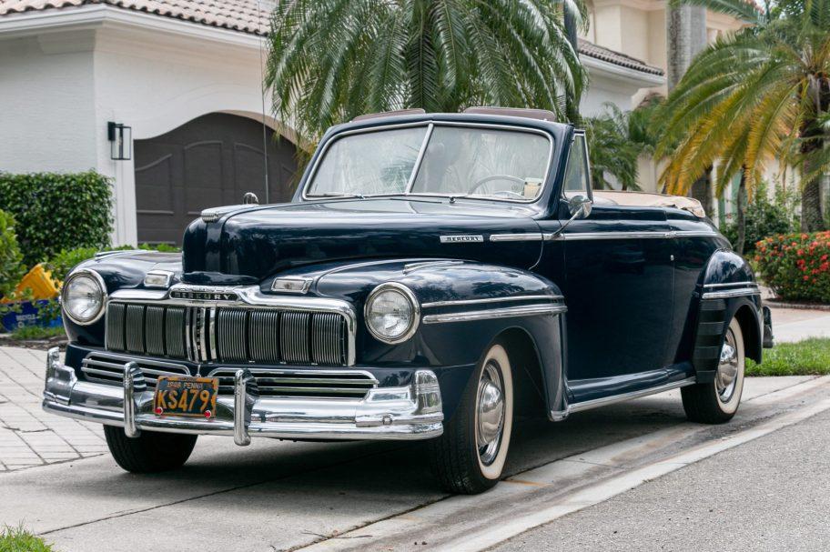 1948 Mercury Eight Club Convertible