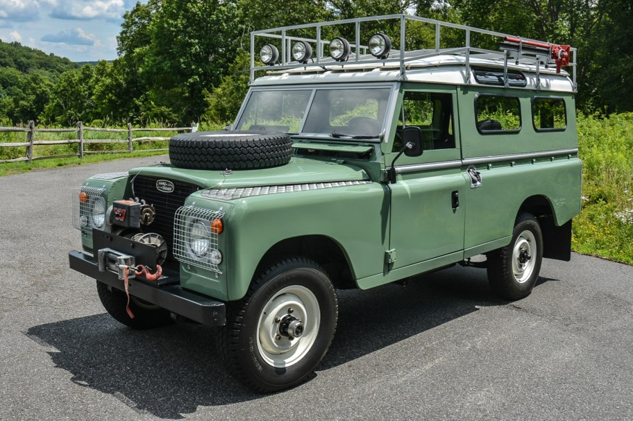 No Reserve: 1961 Land Rover 109 Series II 4x4