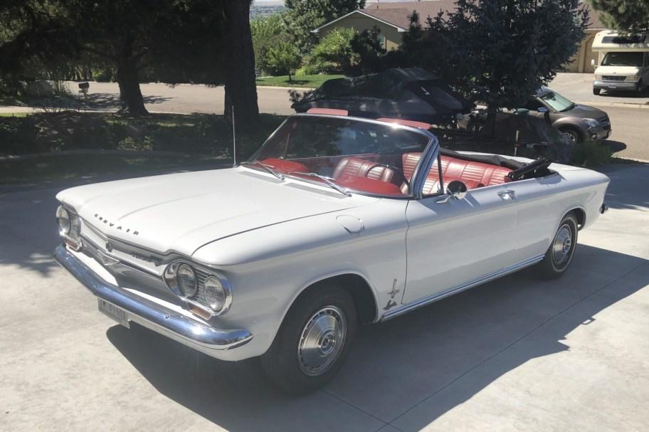 No Reserve: 1963 Chevrolet Corvair Monza Spyder Convertible