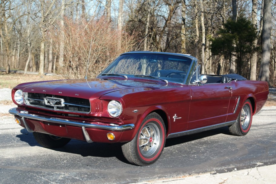 No Reserve: D-Code 1965 Ford Mustang Convertible