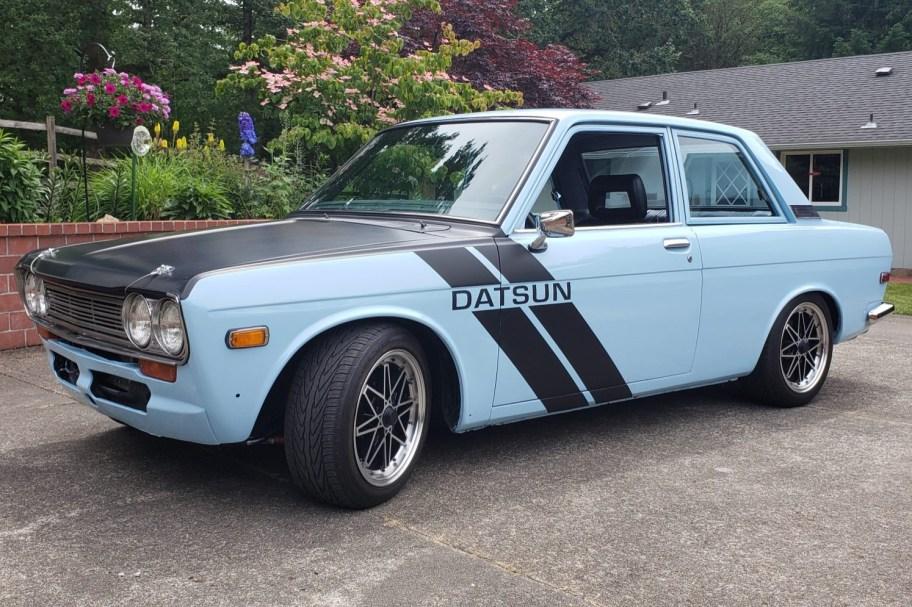 KA24DE-Powered 1971 Datsun 510 5-Speed