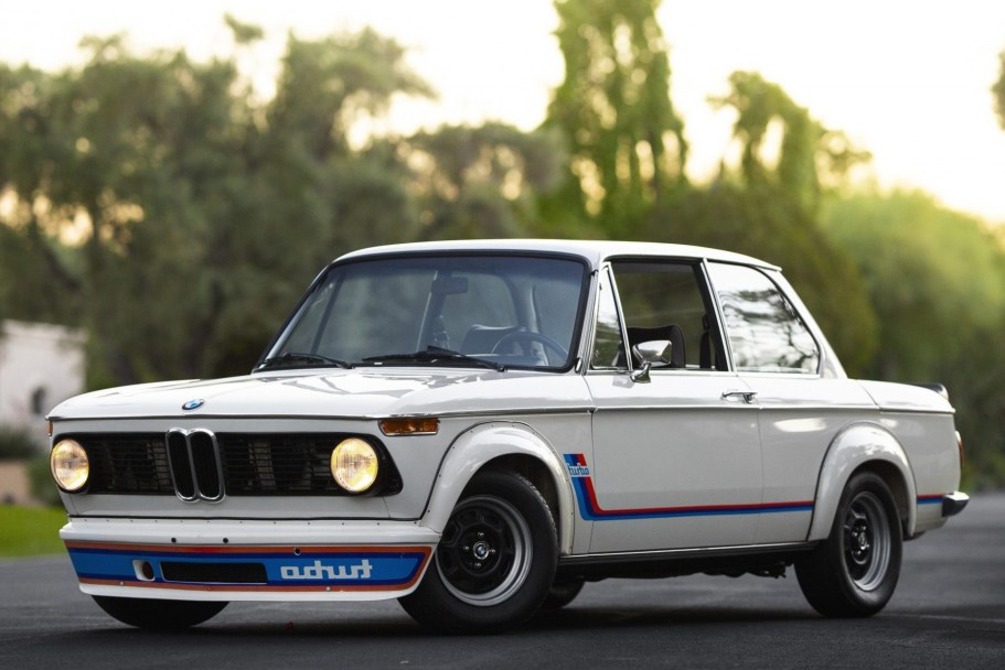 1974 BMW 2002 Turbo 5-Speed