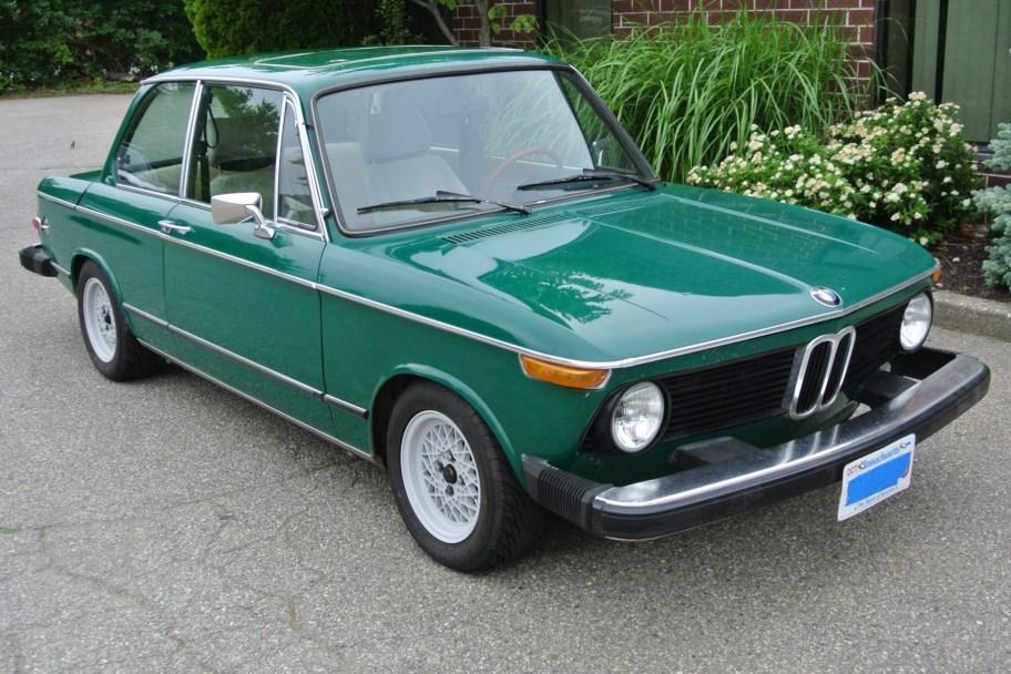 Modified 1975 BMW 2002 5-Speed