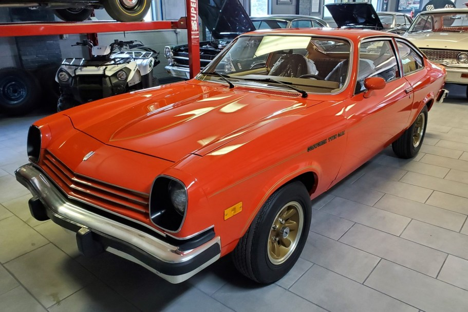 39-Mile 1976 Chevrolet Cosworth Vega