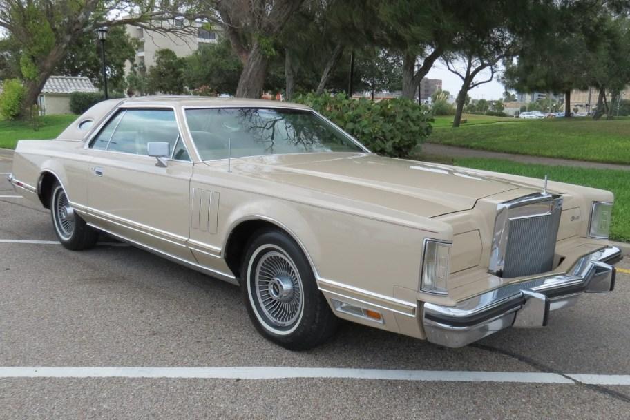 1978 Lincoln Continental Mark V Cartier Edition