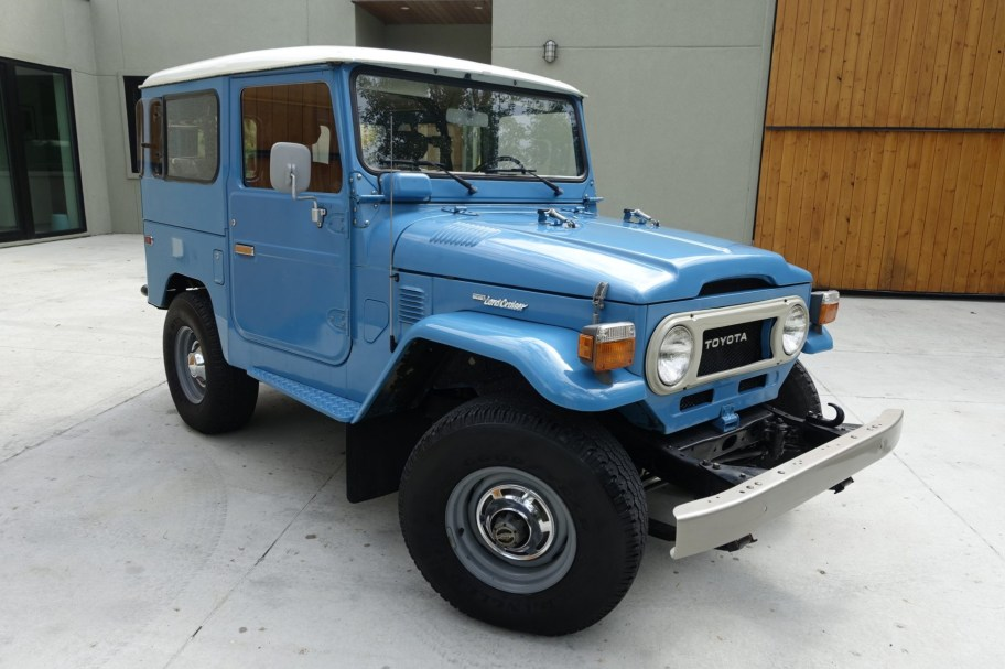 No Reserve: 22-Years-Owned 1978 Toyota Land Cruiser FJ40